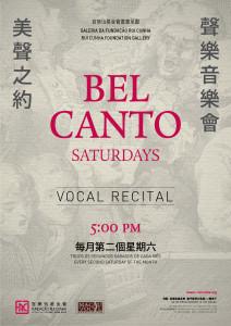 Poster Belcanto