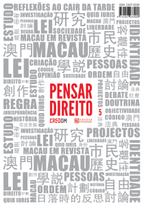 CAPA PENSAR DIREITO N5-PT