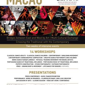 (Workshop) 5 e 6 de Julho na Fundação Rui Cunha em Macau