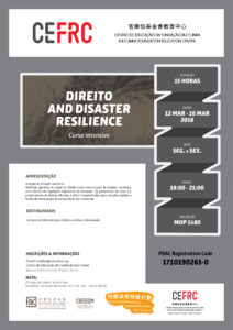 DIREITO AND DISASTER RESILIENCE
